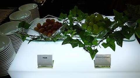 ホテルニューオータニ大阪ハロウィンビュッフェ台 (5)