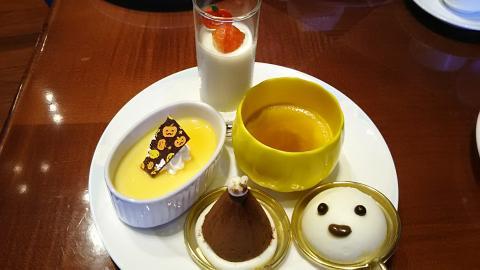 琵琶湖ホテルハロウィン皿 (2)