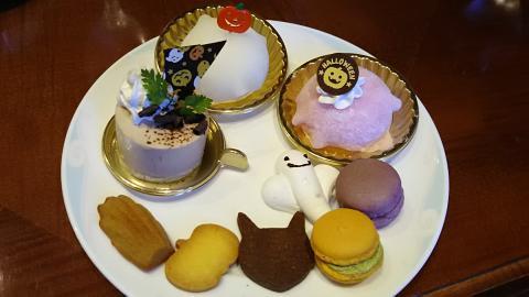 琵琶湖ホテルハロウィン皿 (5)