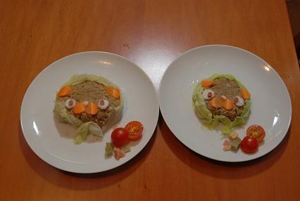 パグの日 ご飯
