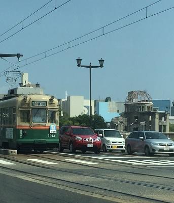 広島の街・・・