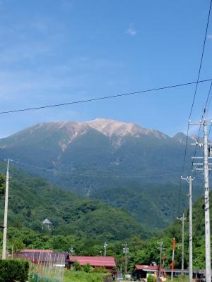 今日の御嶽山