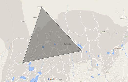 奈義の大三角形