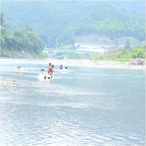 1日目の川
