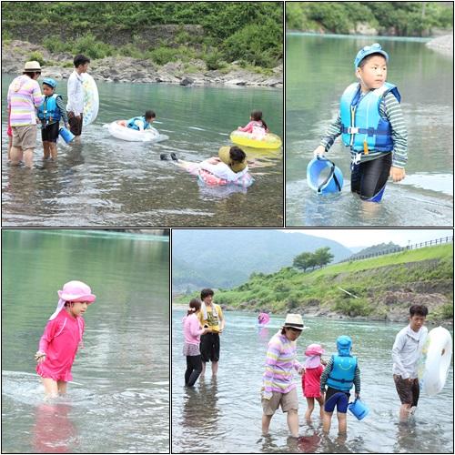 川遊び1日目2