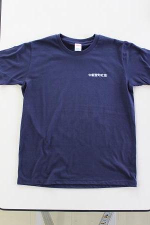Tシャツ前ロゴ