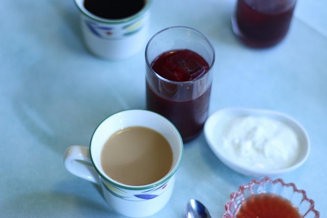 コーヒーとジュース