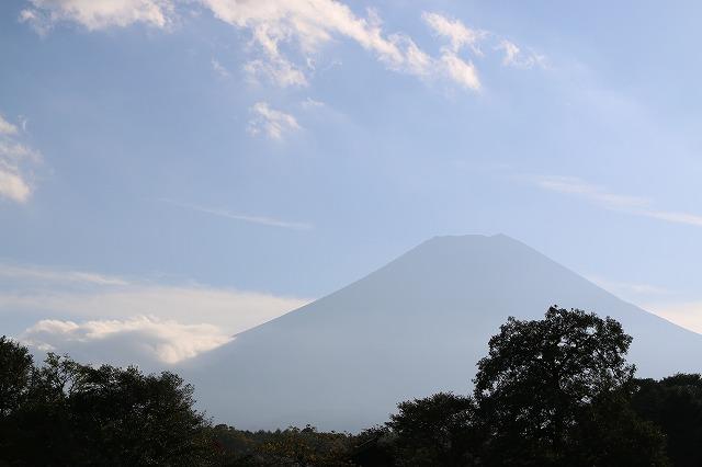 忍野八海から富士山2