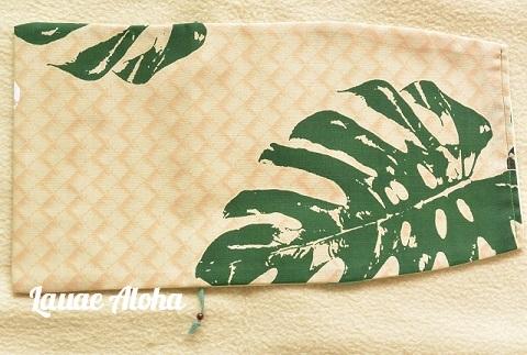 ハワイアンスタイルのブックカバー