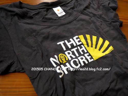201505 ハワイ、ローカルブランド「CHANCE'EM 」の、レディースT シャツ