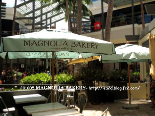 201605 アラモアナセンターでMAGNOLIA BAKERY(マグノリアベーカリー)のカップケーキ