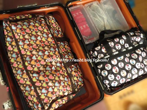 201605 渡ハ時のスーツケースの中身 追記:ハワイに持って行く洋服