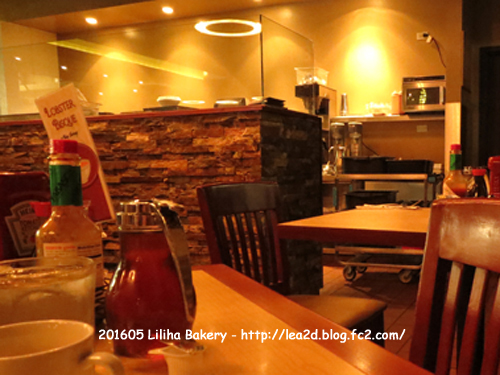 201605 Liliha Bakery(リリハベーカリー) 2号店(ニミッツ店) その2 レストランで食べる