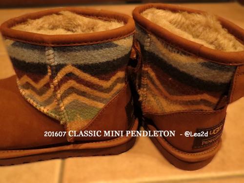 2016 UGGのPENDLETON (ペンドルトン)なCLASSIC MINI (クラシック ミニ )ショートブーツ ♪