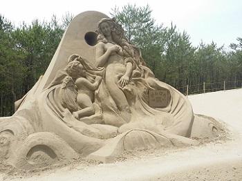 砂の祭典 手ブラ