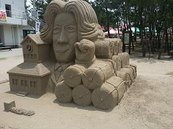砂の祭典 小泉元首相