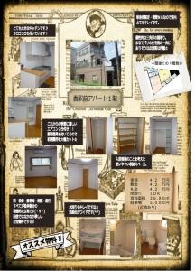 香駅前アパート1階blog