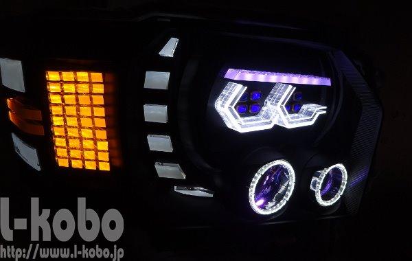 200系ハイエースヘッドライト2