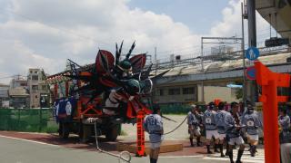 大蛇山祭りの写真