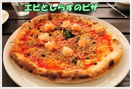 シラスえびピザ
