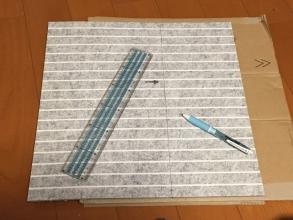 和室リニューアル!和室の畳にタイルカーペットを敷いて子供の学習机を置く♪