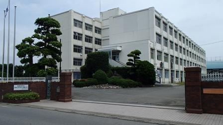 本庄第一中学校 校舎外観