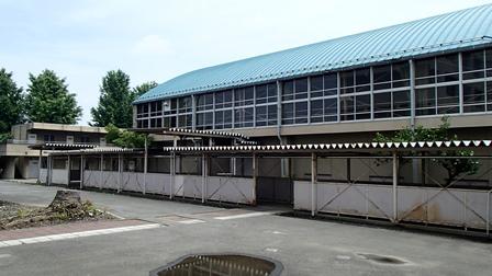 本庄第一中学校 体育館