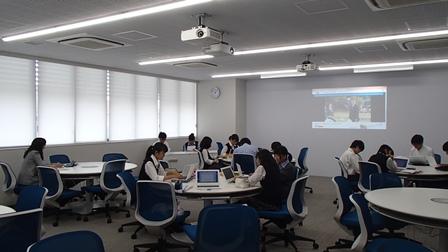 細田学園 英語授業