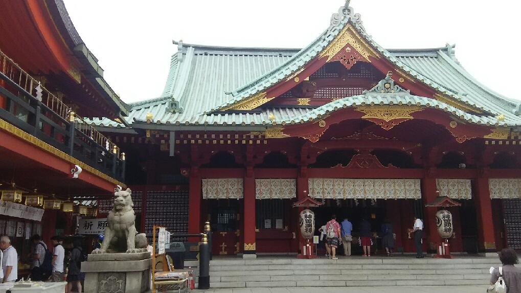 神田明神 拝殿