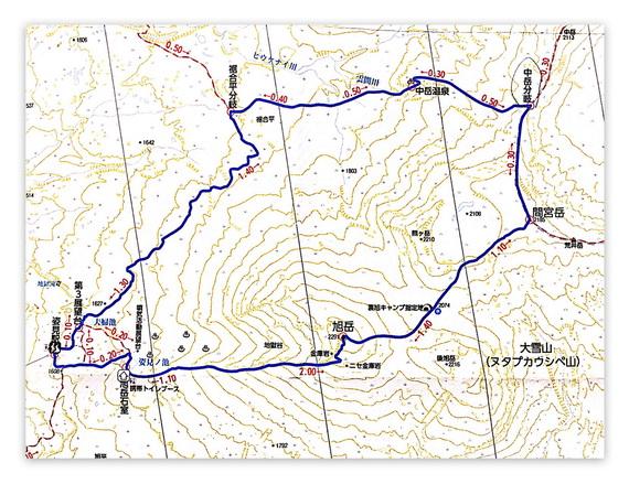 b1-旭岳周回コース