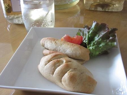 パンと梅シロップ