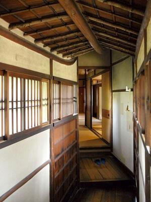 旧西尾家住宅渡り廊下1606