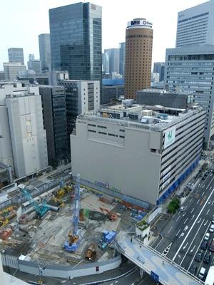 阪神百貨店工事中1606