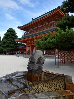 平安神宮手水所1607