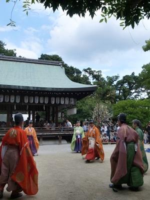 白峯神宮の蹴鞠1607