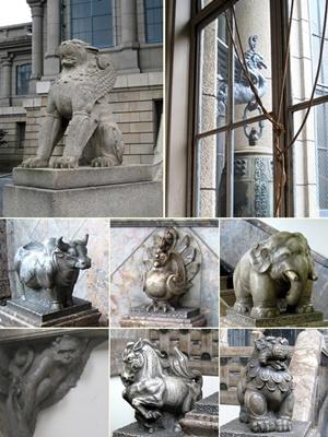 築地本願寺の動物1607