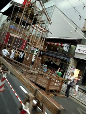 祇園祭り鉾建て1607