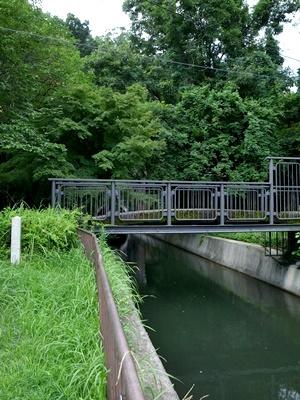疎水コンクリート橋1607