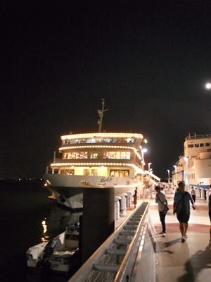 琵琶湖ビアンカ号夜1608