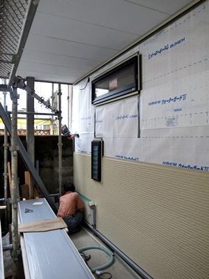 hamanori外壁サイディング張り1609