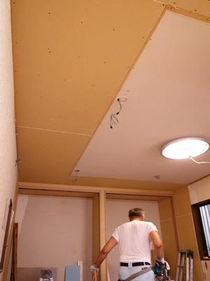 koyokan2天井ボード張り1609