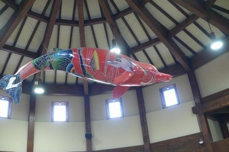 風船のツチ鯨?