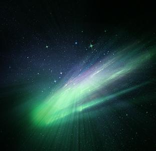 モルダバイトは緑に光る