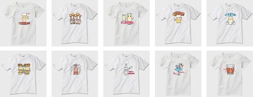 キャラTシャツ10