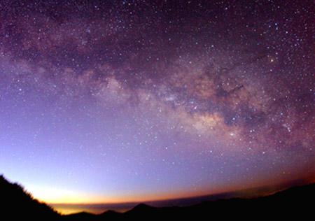 夜明けの天の川(02月)