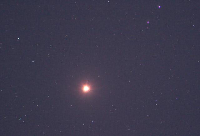 さそり座の火星20160512