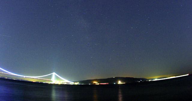 明石海峡(夏の星空)さそり座