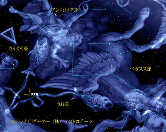 星座絵 20161001 天王星001
