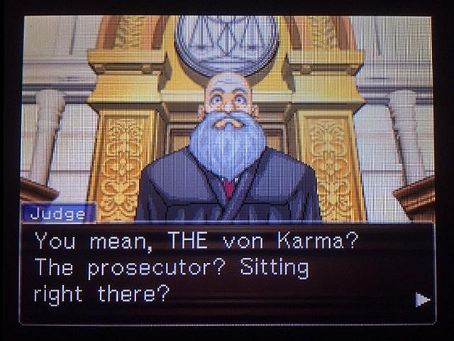 逆転裁判 北米版 真犯人その名はフォン・カルマ17