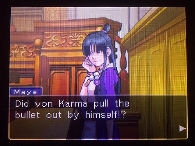 逆転裁判 北米版 真犯人その名はフォン・カルマ35